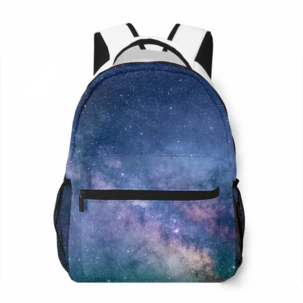 Bright Stars Leisure Backpack Satchel Bag Popular Commuting To School Large Capacity Customized Personality Backpack