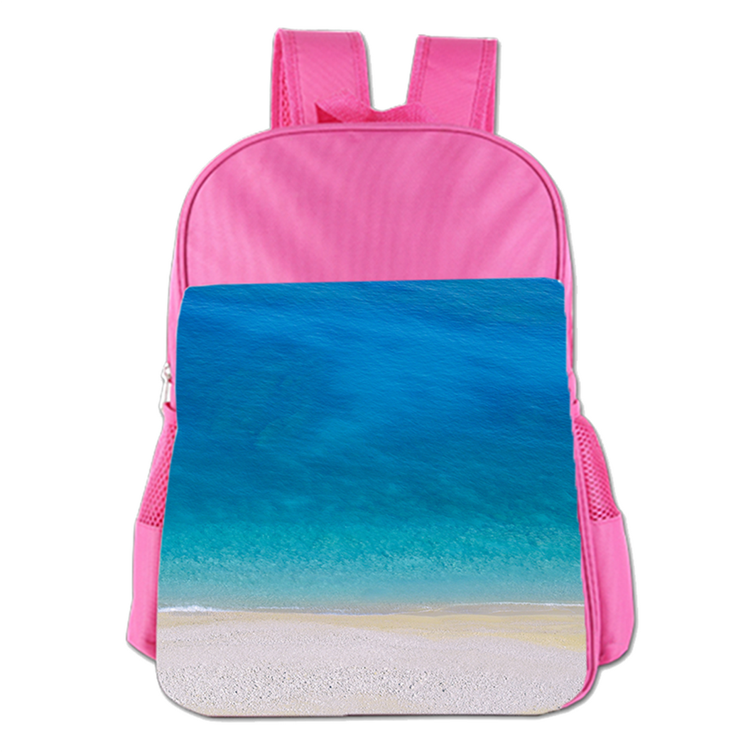 The Summer Beach Cute Simple Large Capacity Children's Schoolbag Girls Commuter Backpack