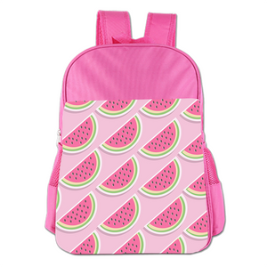 Pink Watermelon Cute Simple Large Capacity Children's Schoolbag Girls Commuter Backpack