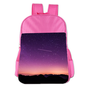 Shooting Star Cute Simple Large Capacity Children's Schoolbag Girls Commuter Backpack