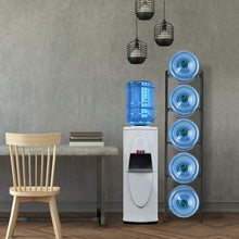 Load image into Gallery viewer, 5-Tier Water Cooler Jug Rack,