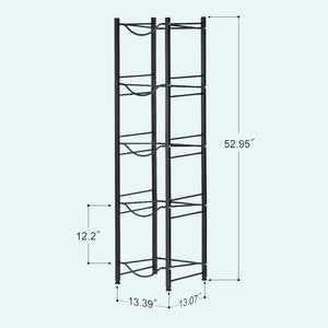 5-Tier Water Cooler Jug Rack,