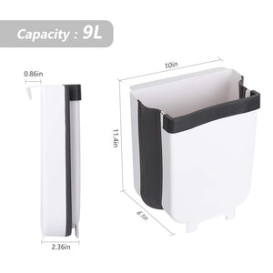 Kitchen Trash Can, Hanging Collapsible Waste Bin