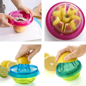 HEOMU Fruit Slicer Multi Kitchen Tools Gadgets