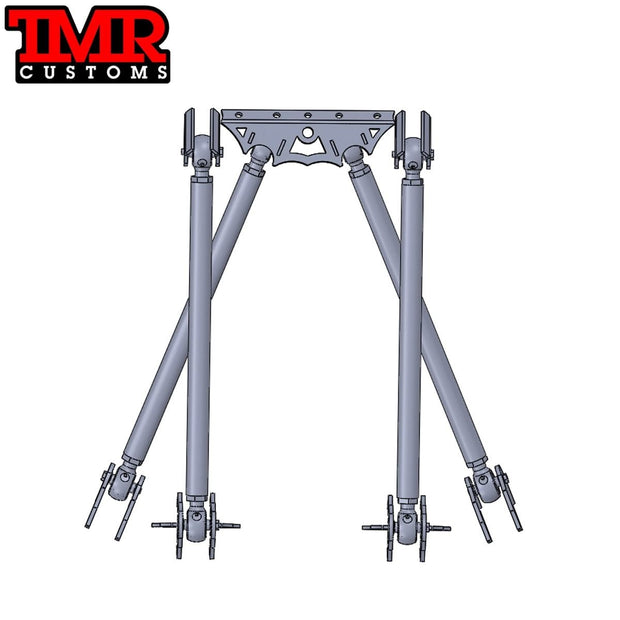Triangulated 4 Link Kit - Rockwell Suspension - TMR Customs