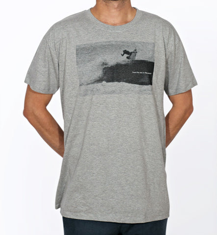 COHETE FROM THE SEA T-SHIRT - GREY