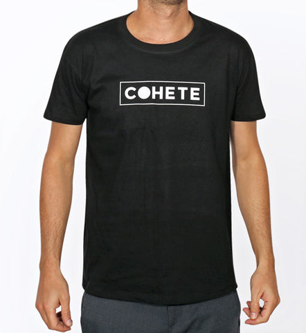 COHETE LOGO T-SHIRT - BLACK