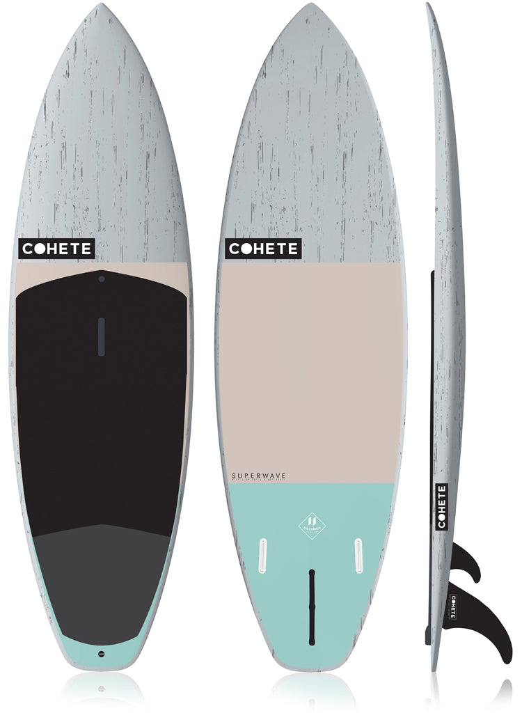 Cohete SUP stand up paddle Superwave Wave SUP Carbon Technology