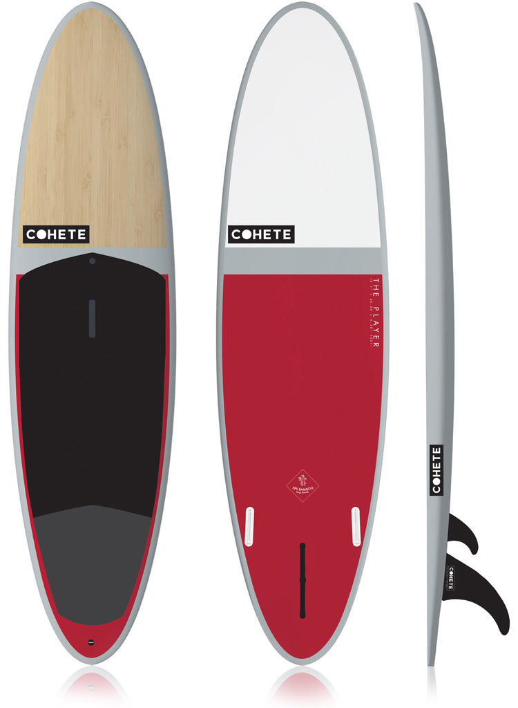 Cohete SUP stand up paddle Player Wave SUP Bamboo Technology