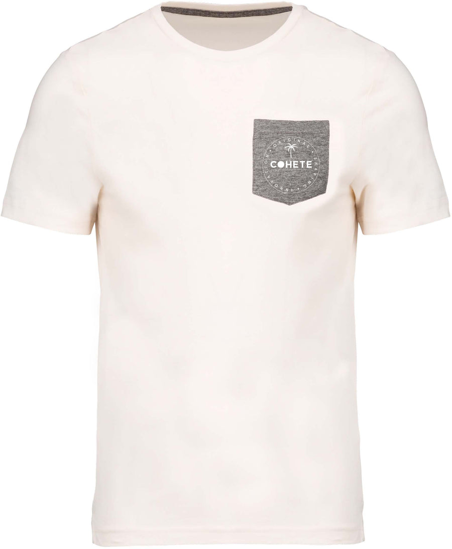 COHETE T-SHIRT WITH POCKET