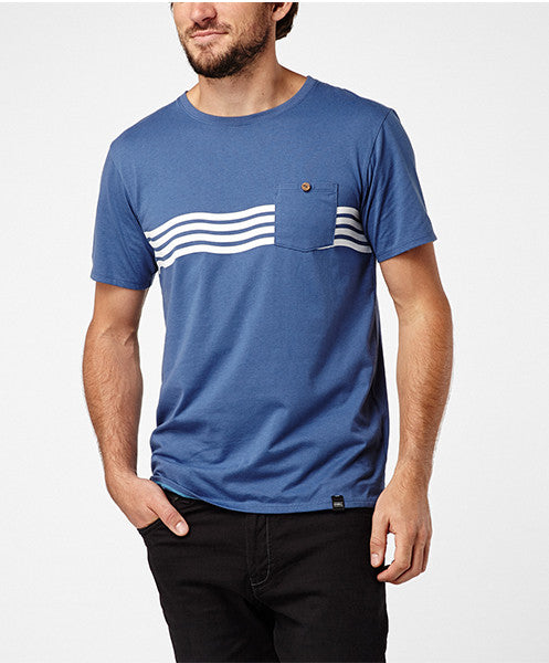 PERFECT LINES T-SHIRT - TRUE NAVY