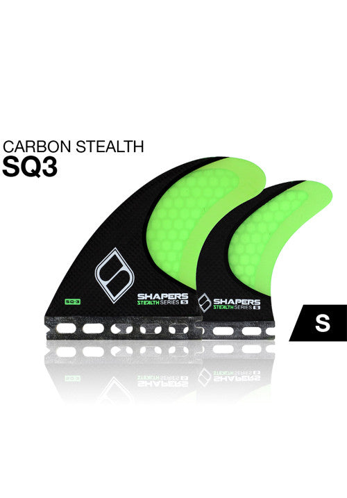 SHAPERS - CARBON STEALTH SERIES S: SQ3 QUAD