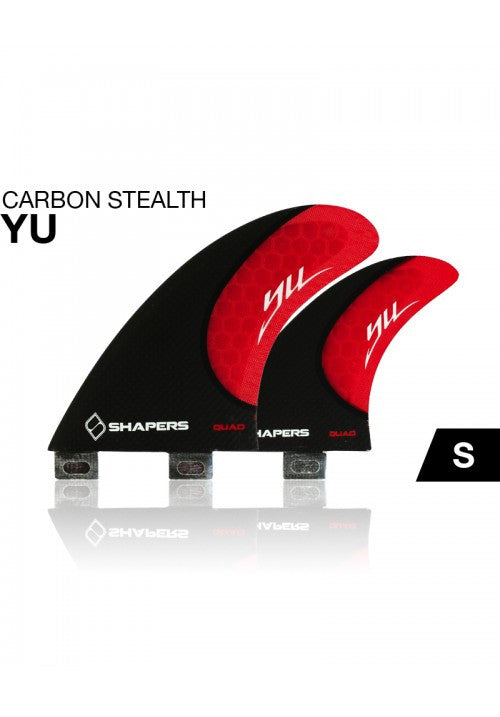 SHAPERS - CARBON STEALTH QUAD: YU SERIES