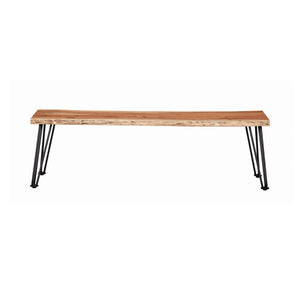 Sherman Collection Solid Live Edge Bench