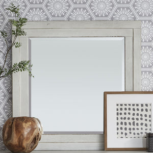 Modern Farmhouse Collection Mirror - Antique White