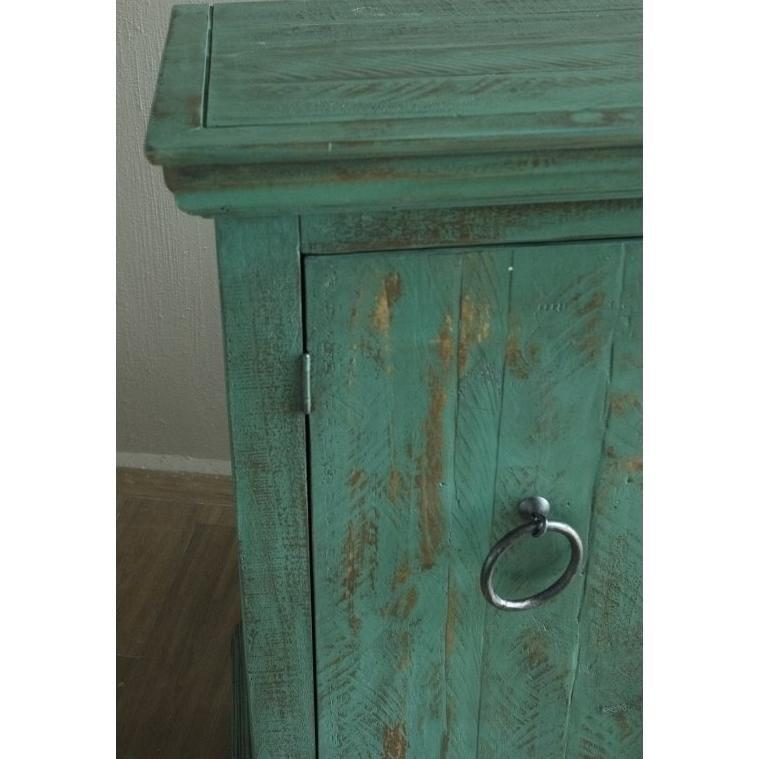 "Capri Collection 73"" Green Sideboard"