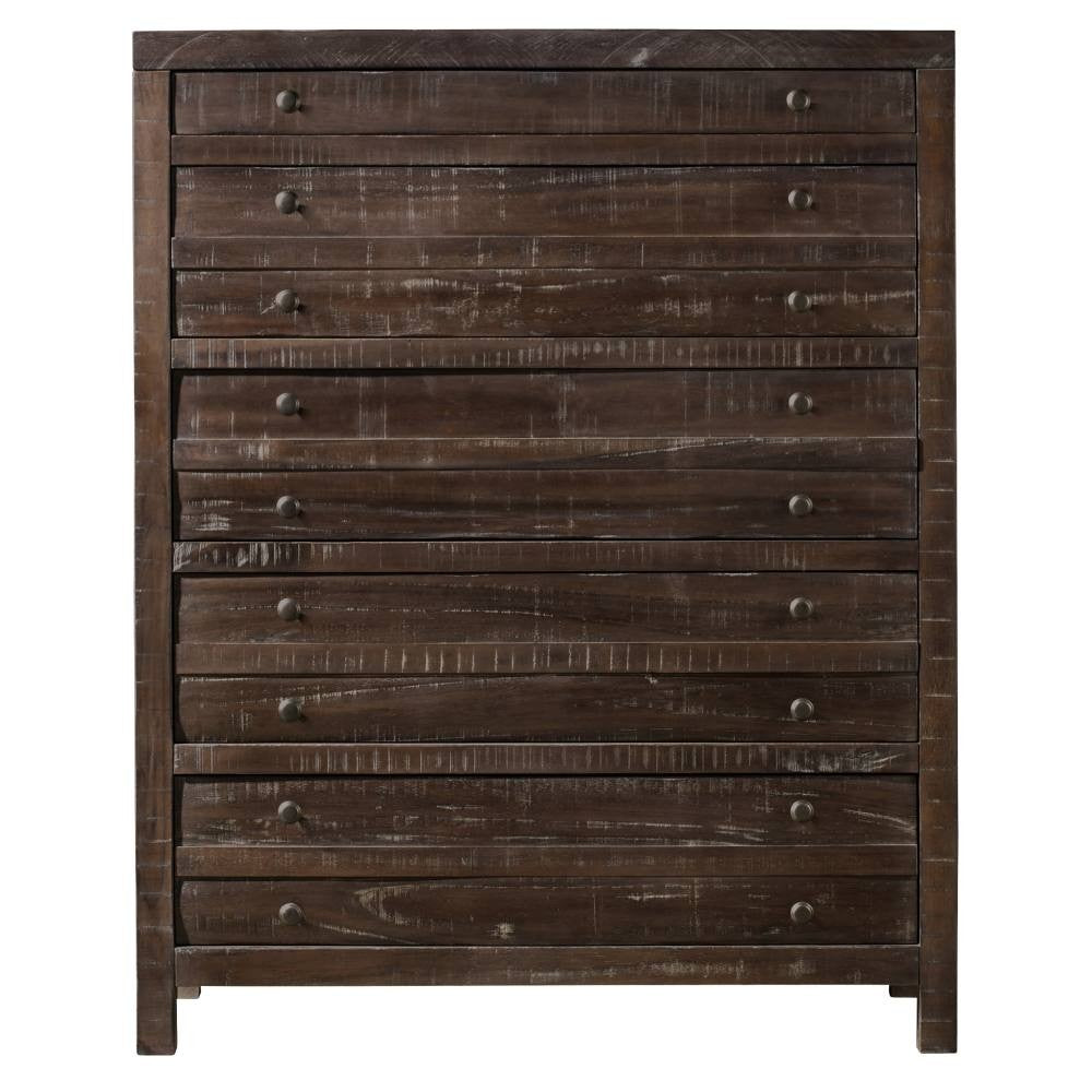 Townsend Collection Five Drawer Chest - Java Finish
