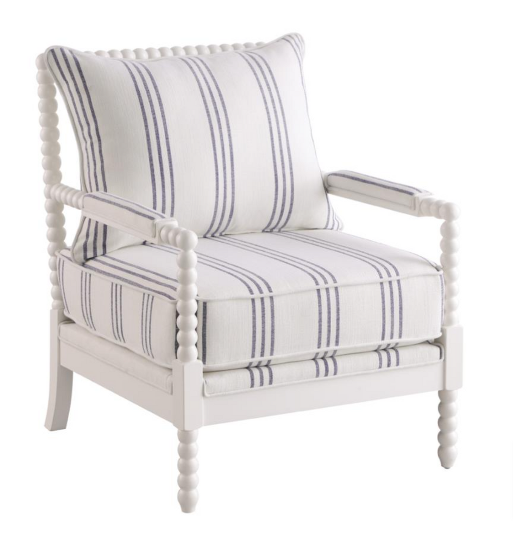 Coastal Collection Accent Chair - White