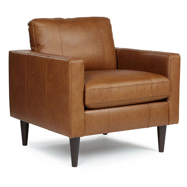 Trafton Collection Leather Club Chair