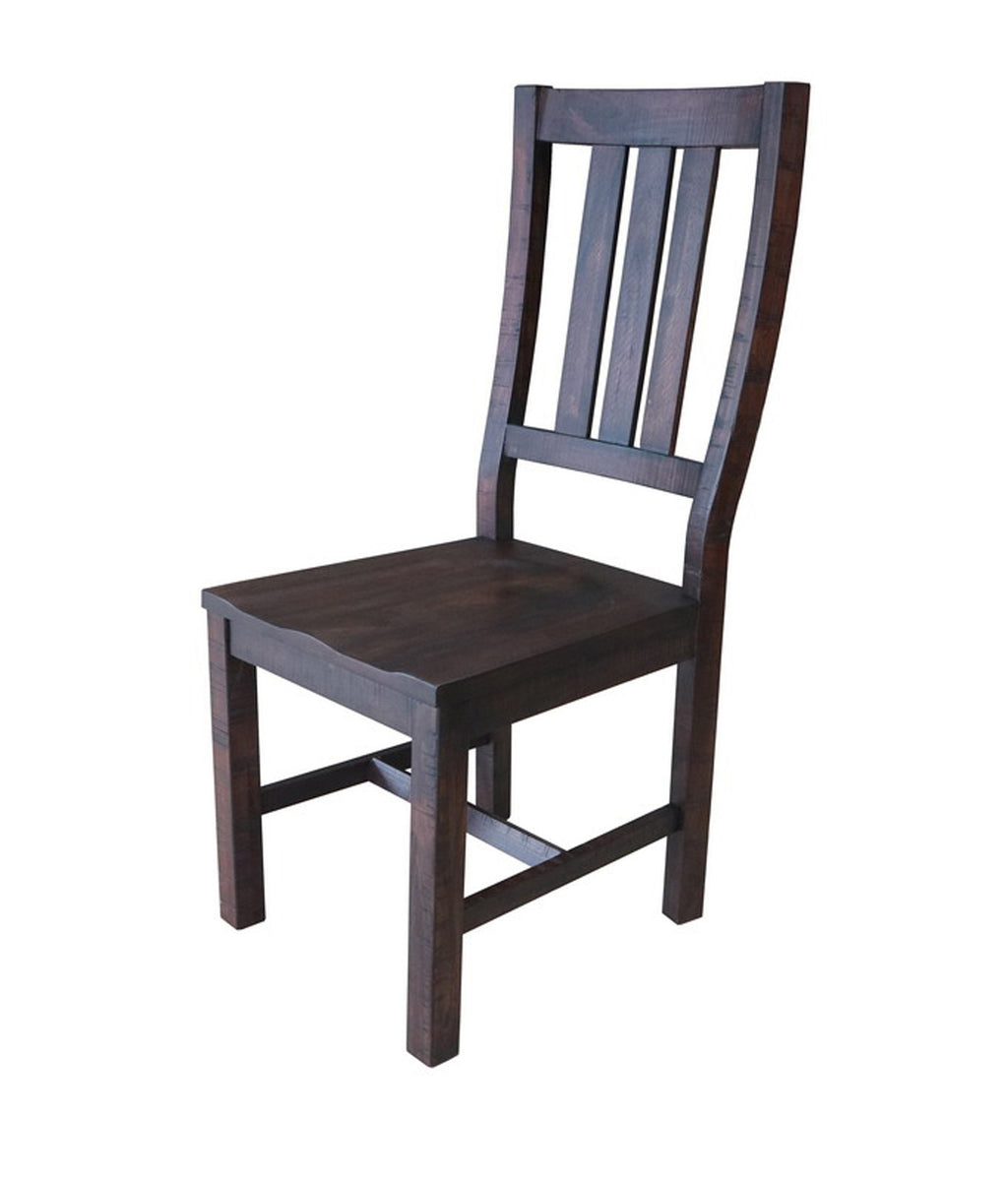 Calandra Collection Slat Back Side Chair