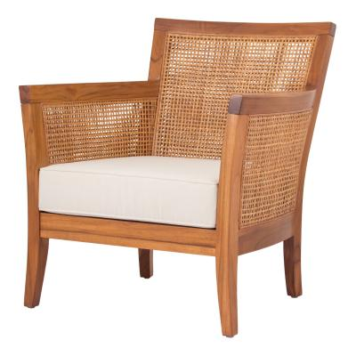 Carter Collection Rattan Arm Chair