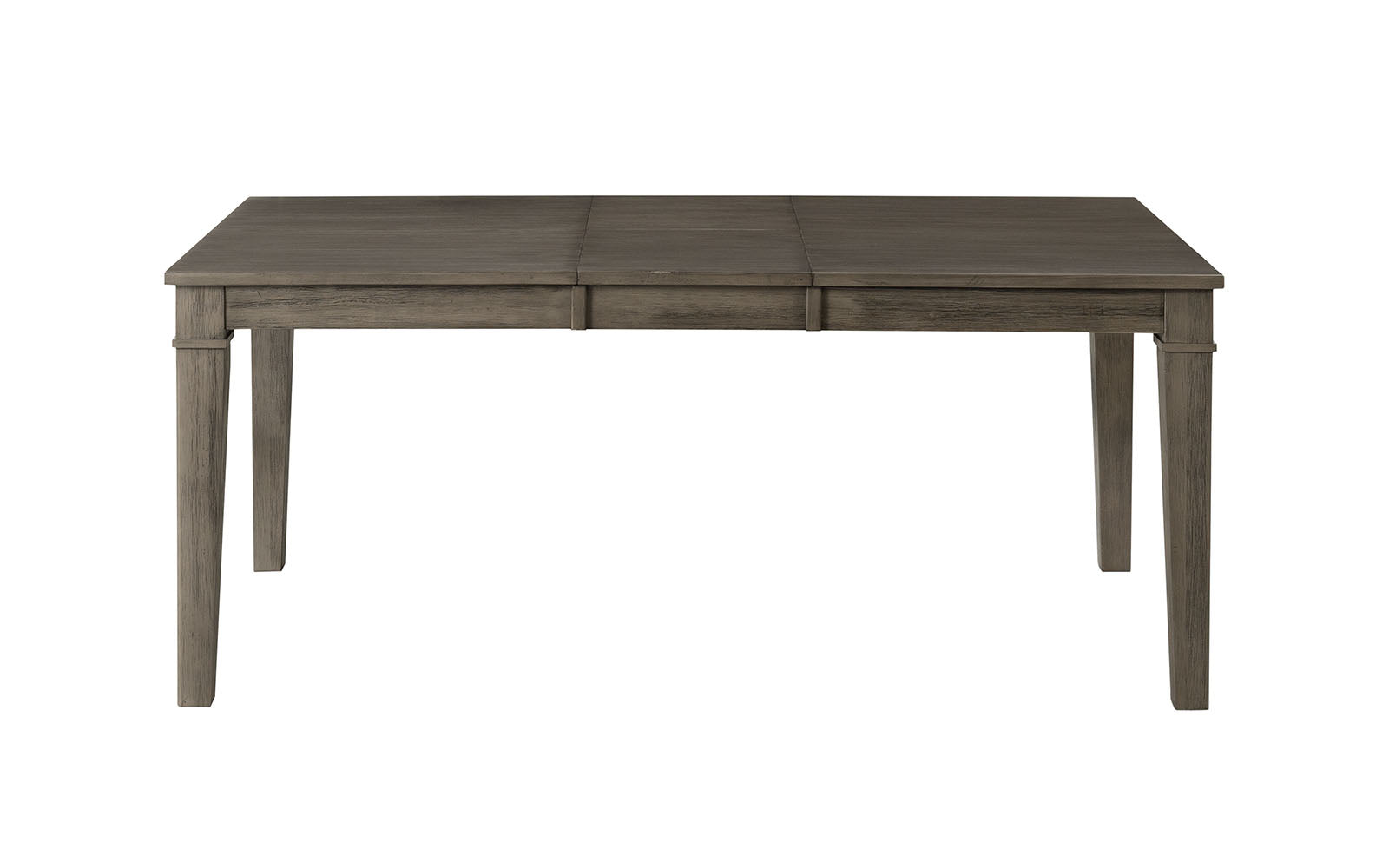 "Huron Collection 56"" Rectangular Dining Table w/16"" Extension - Distressed Gray"