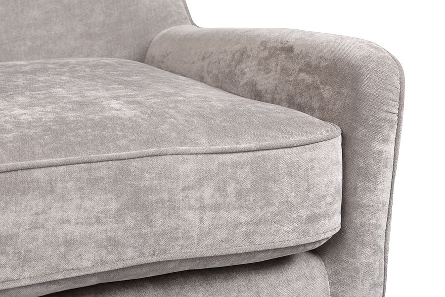 Kristina Cement Gray Accent Chair