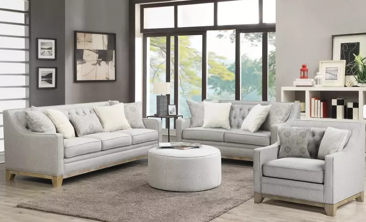 Jaizel Collection Tufted Sofa