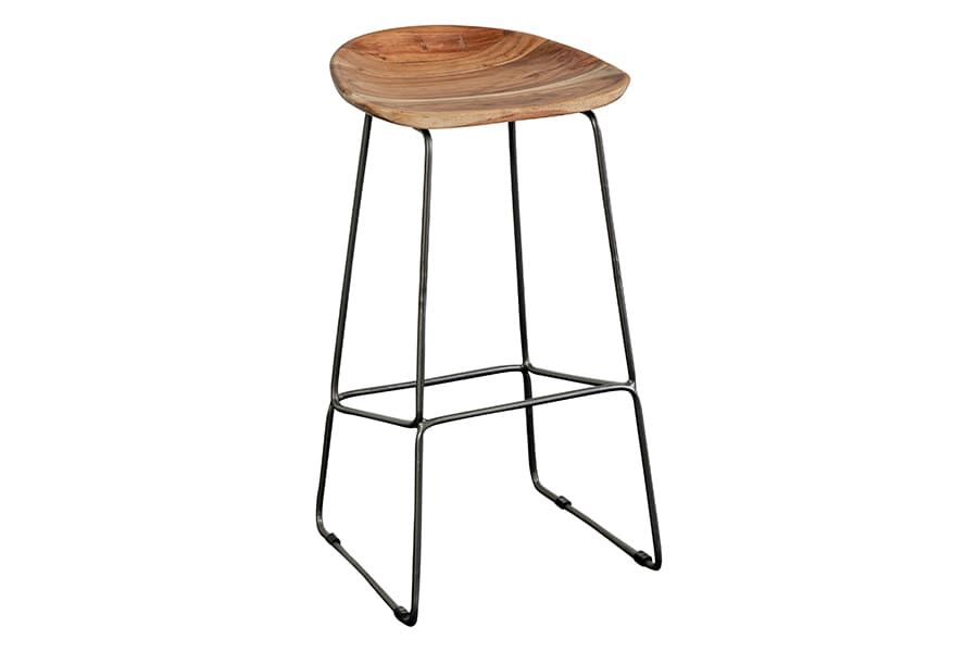 Neri Collection Solid Wood Counter Stool