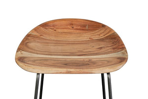 Neri Collection Solid Wood Bar Stool