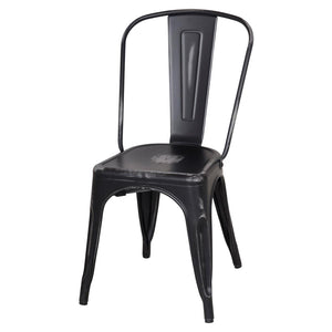 Metropolis Distressed Black Dining Chair (Set of 4 - $69ea)