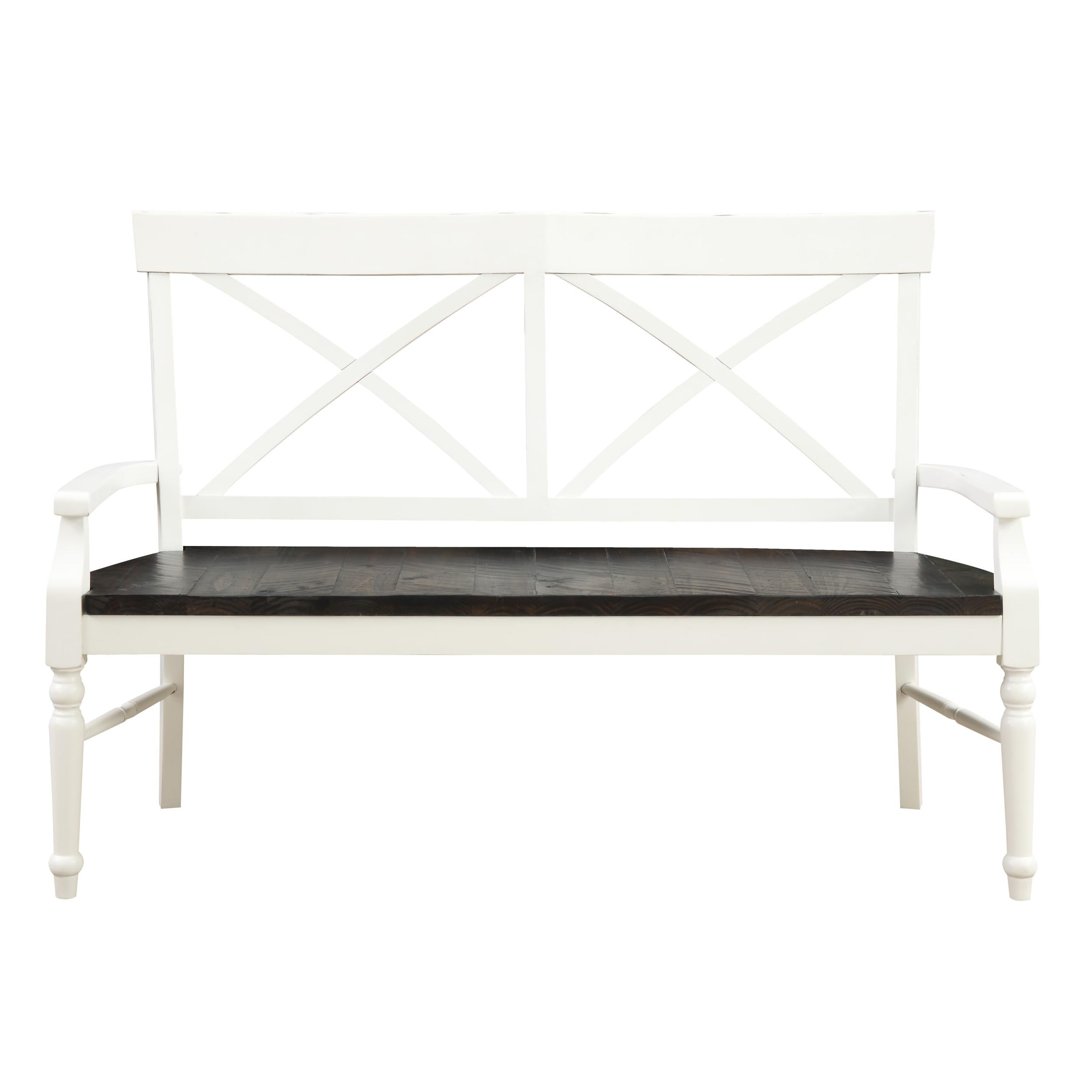 Mountain Retreat Collection X Back Dining Bench