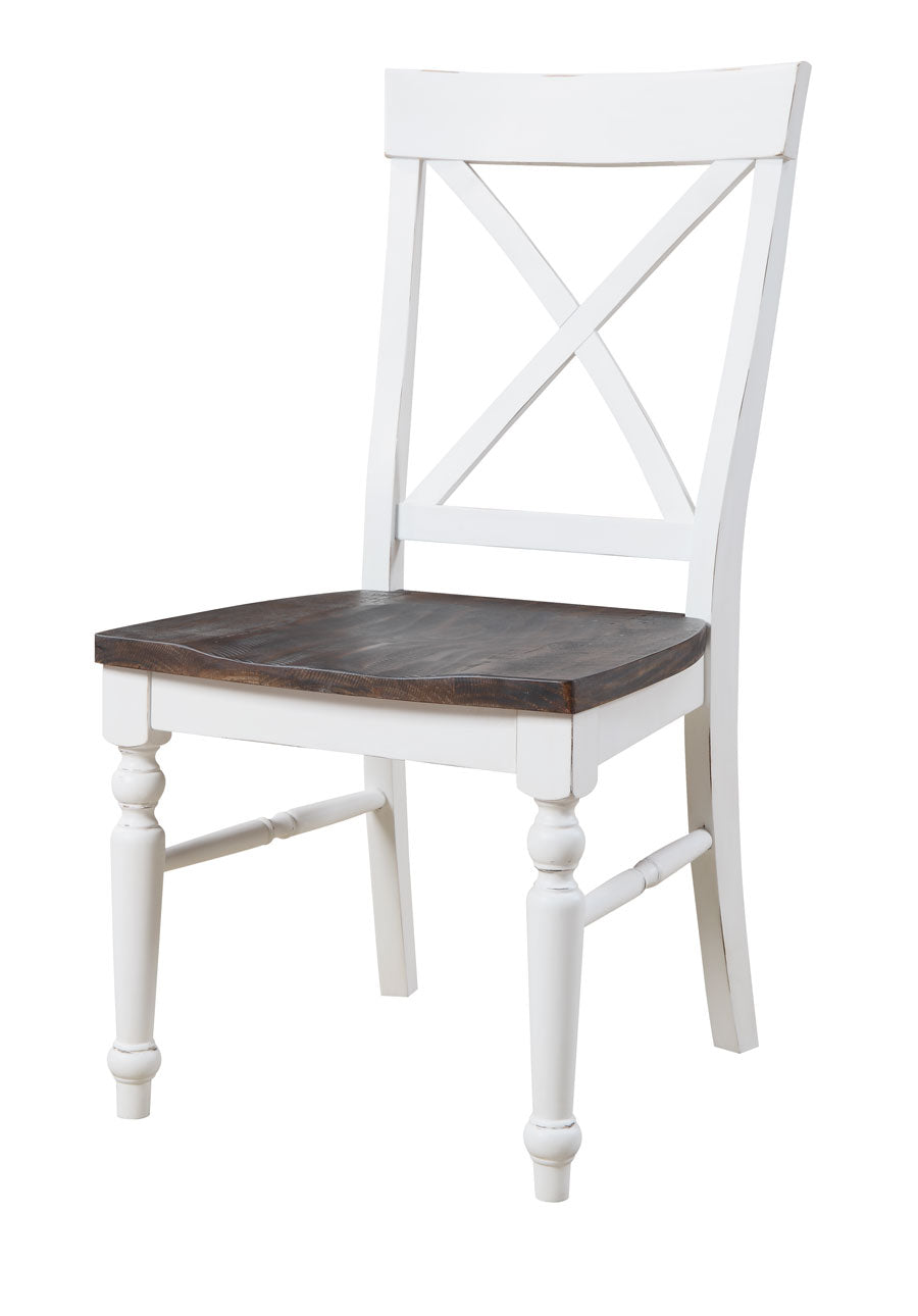 Mountain Retreat Collection X Back Dining Chair (Set of 2 - $129ea)