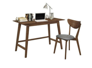 Alfredo Collection Mid Century Modern Desk & Chair Set