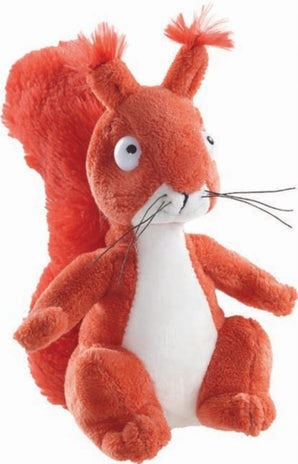 Gruffalo Squirrel 7 Inch Soft Toy