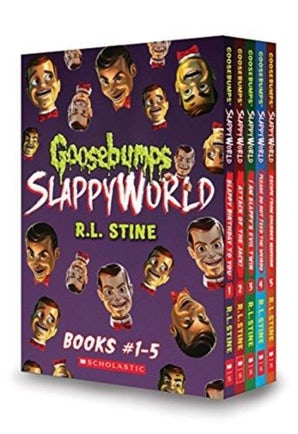 Goosebumps SlappyWorld Box Set: Books 1-5