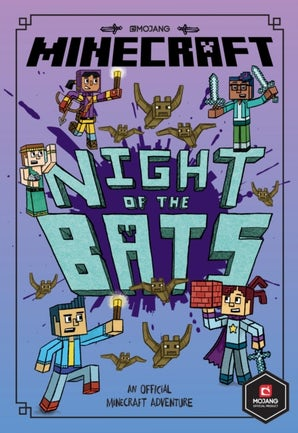 Minecraft: Night of the Bats (Minecraft Woodsword Chronicles #2)