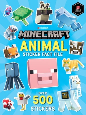 Minecraft Animal Sticker Fact File
