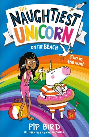 The Naughtiest Unicorn on the Beach