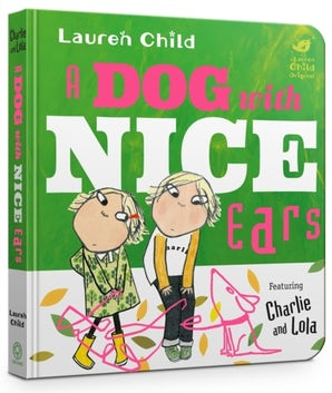A Dog With Nice Ears Board Book