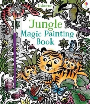 Jungle Magic Painting Book