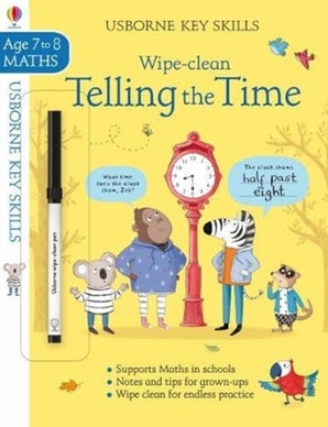Wipe-clean Telling the Time 7-8