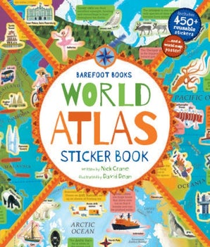 World Atlas Sticker Book