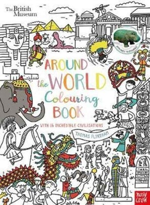 British Museum: Around the World Colouring Book