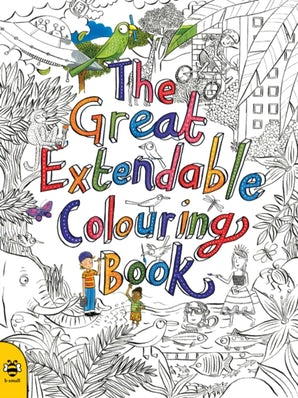 The Great Extendable Colouring Book