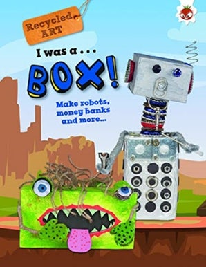 I Was A Box - Recycled Art