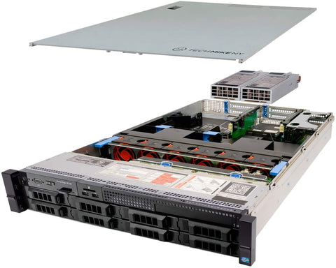 REFURBISHED DELL R720 RACKMOUNT SERVER 2U With 512 Enterprise SSD x3