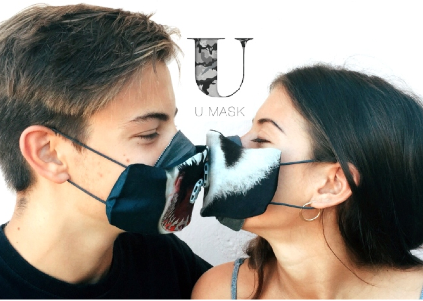 U-Mask Waterproof Animals Shark - u-mask, biotech pollution mask