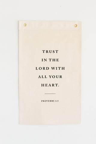 Trust in the Lord (Proverbs 3:5)