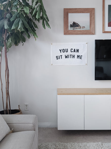 You Can Sit With Me Flag